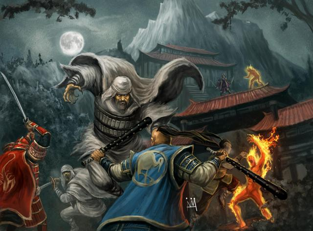 war of dark fire   l5r wiki  the legend of the five rings wiki   clans