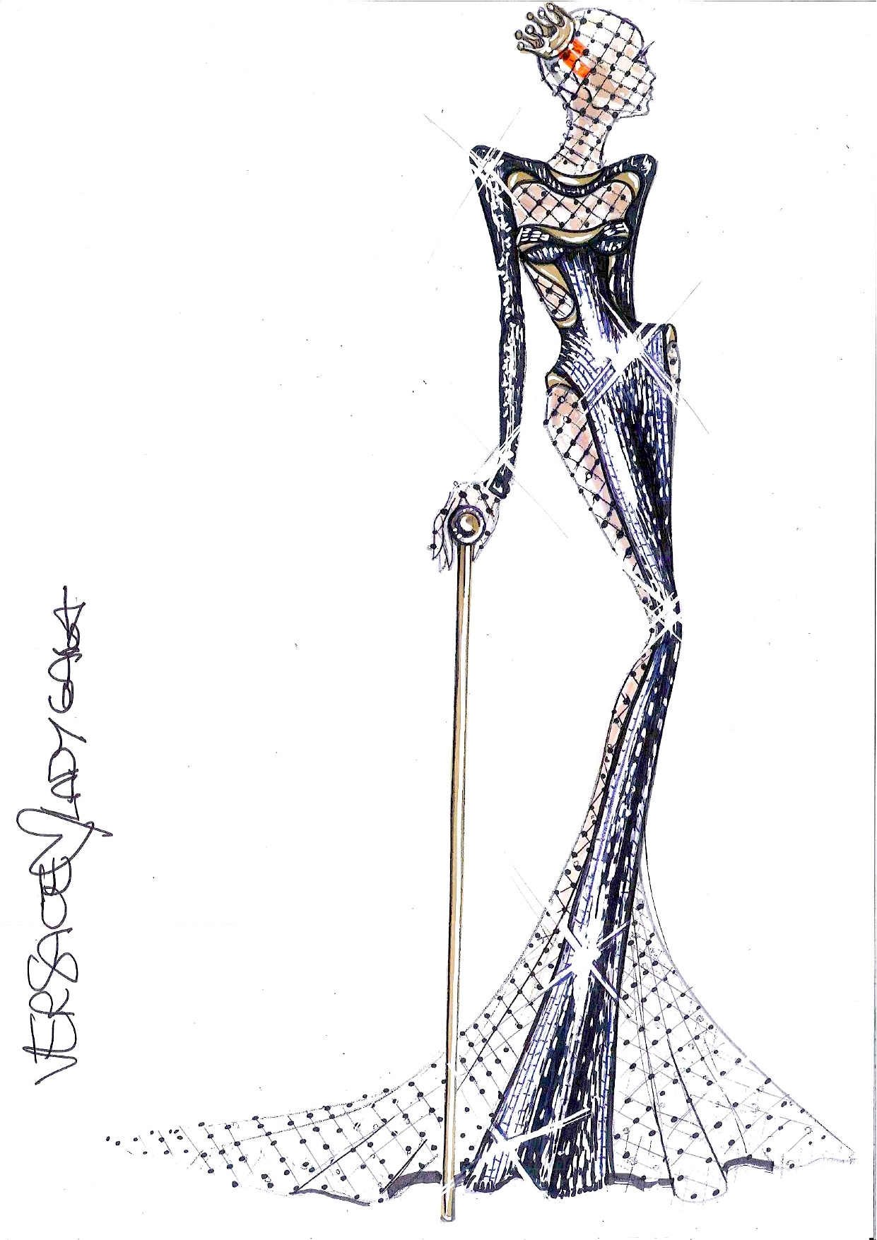 Image - Atelier Versace Sketch for 54th Grammy Awards.jpg ...