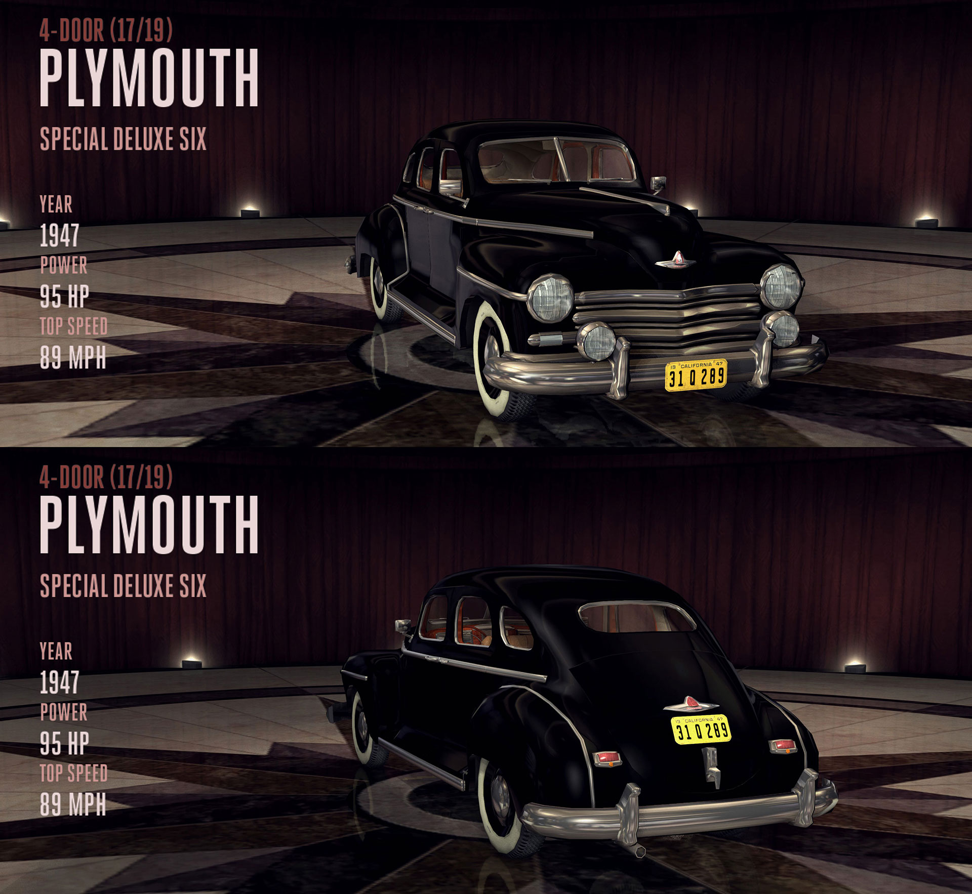 17. Plymouth Special Deluxe Six - Wilshire