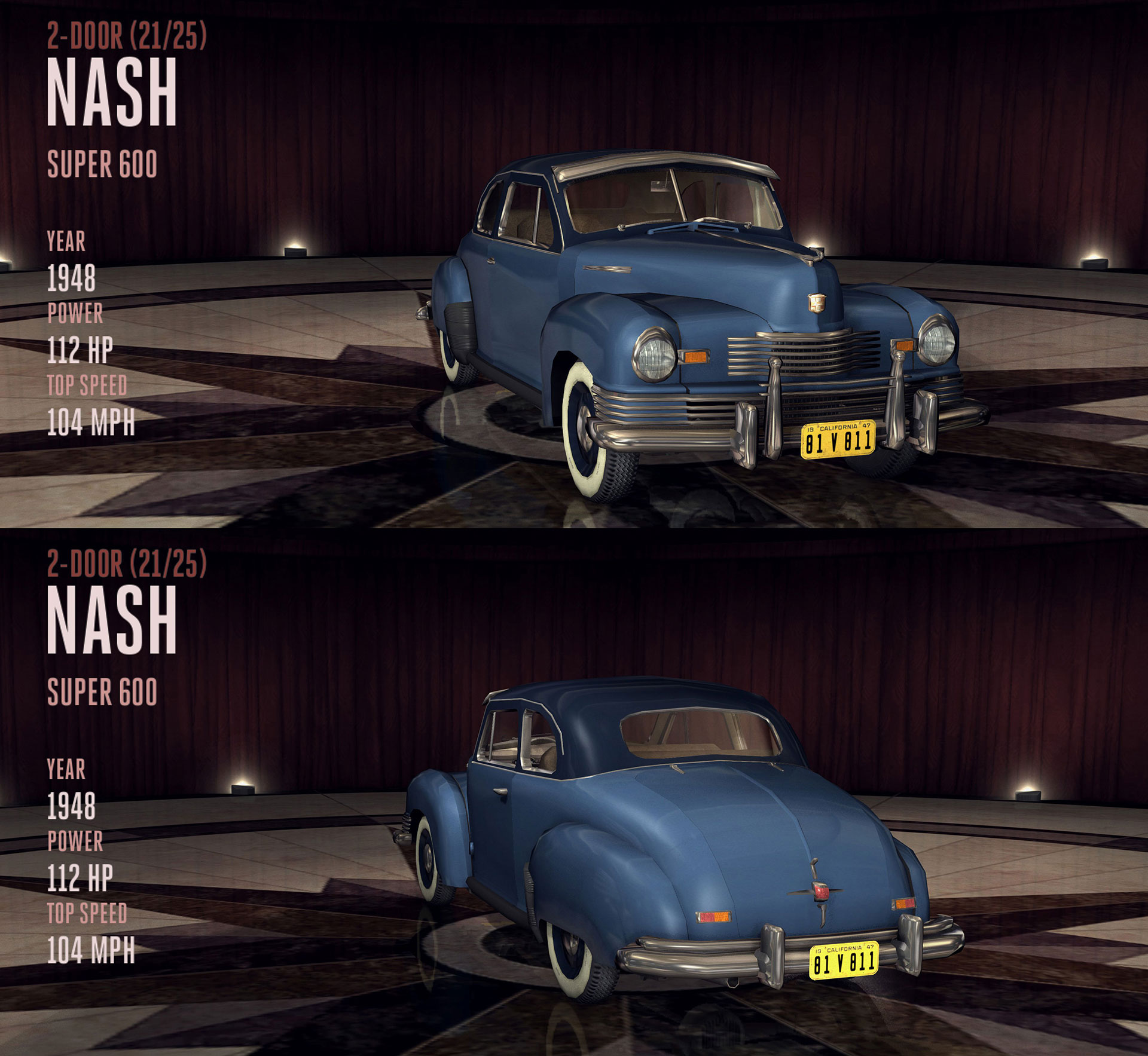 Nash Super 600