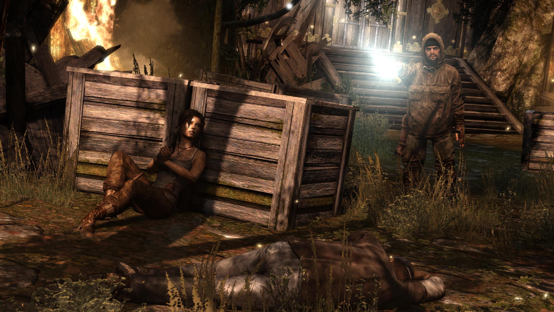 Tomb Raider (in-game screenshot)