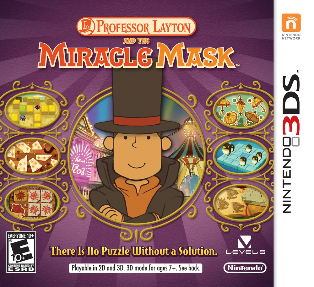 """[Spoilers] Discussion """"Professeur Layton et le Masque des Miracles 3DS"""" - Page 2 Miracle_Mask_Boxart"""