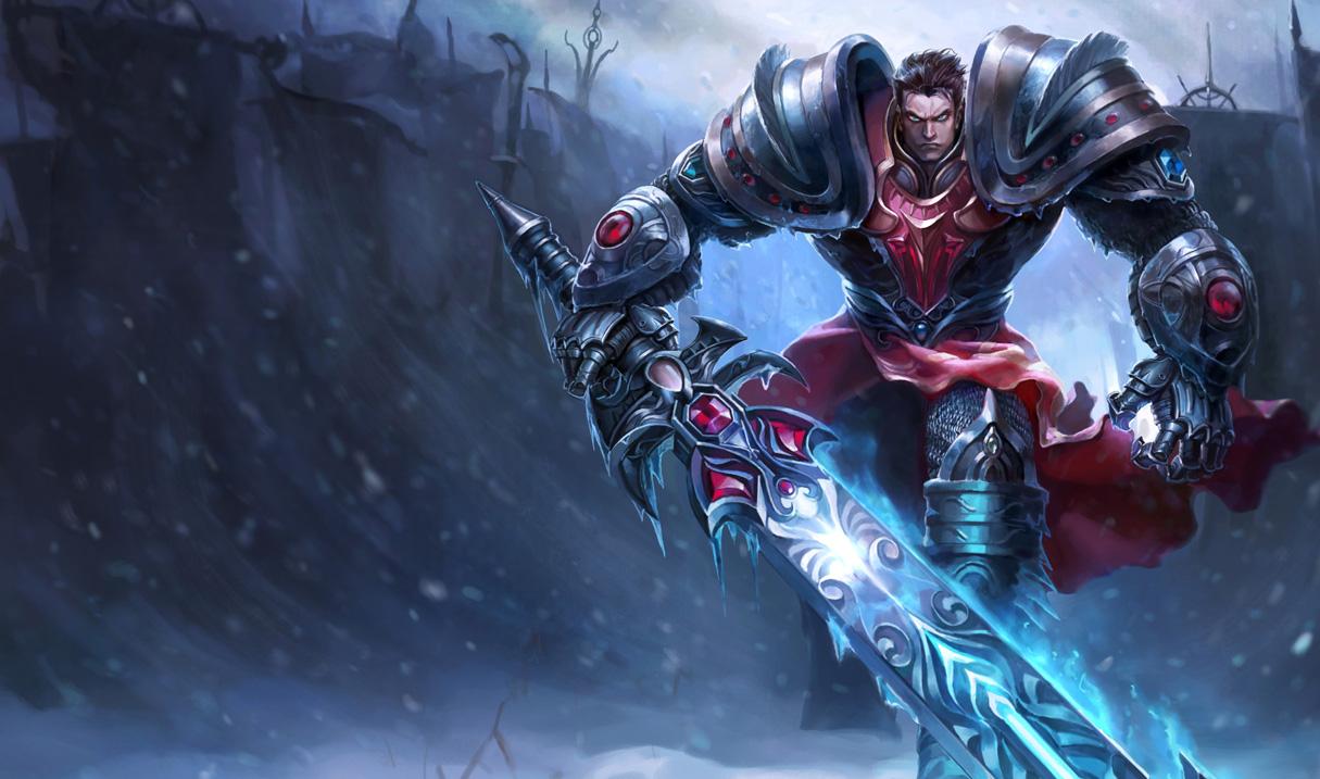 Garen DreadknightSkin Ch - Garen Guide League Of Legends Garen Strategy Build