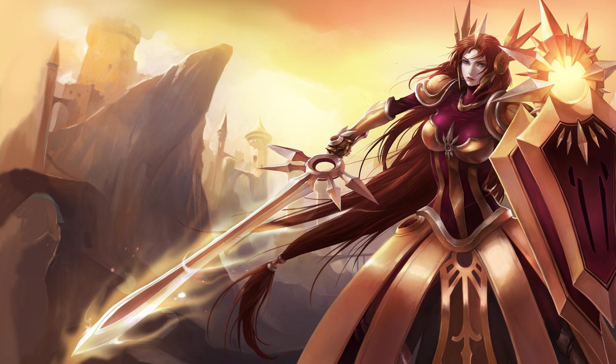 League of Legends Leona_OriginalSkin_Ch