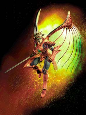 Silver dragon's Duel Avatar Dragoondart