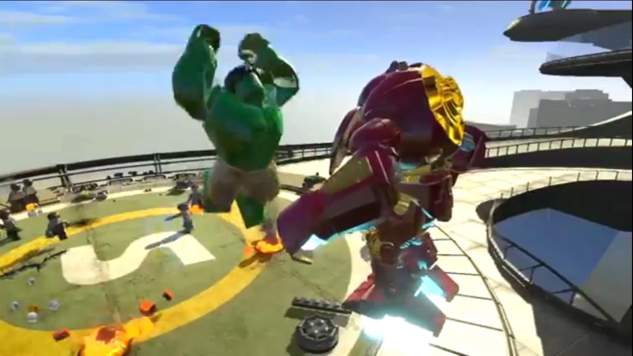 lego hulkbuster vs hulk - photo #26