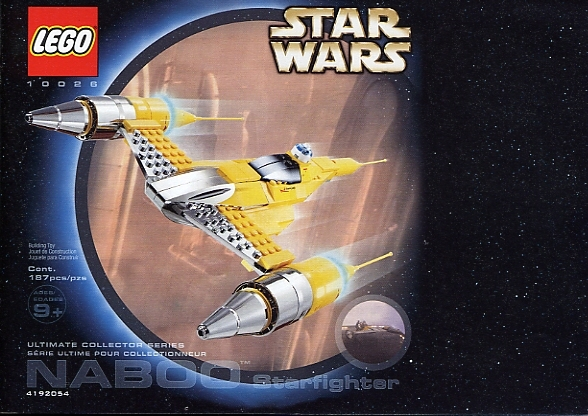 10026 Special Edition Naboo Starfighter. Edit Read more: Star Wars