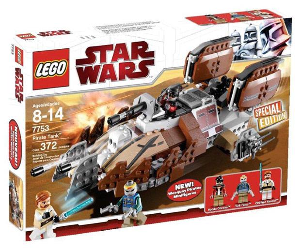 Схемы и инструкции Lego Star Wars - Pirate Tank (Пиратский танк) - Lego 7753.