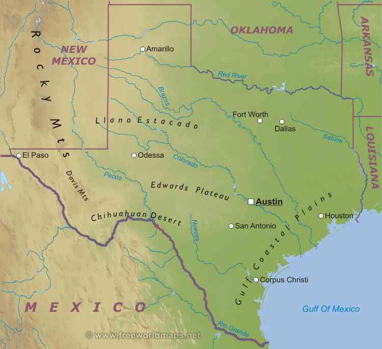 Image - Texas-map.jpg - Liberapedia