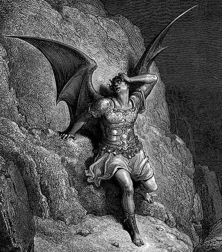 Paul Gustave Doré - Lucifer
