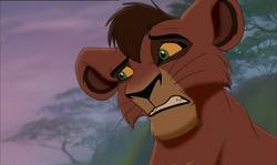 "El Rey León II ""El reino de Simba"": Kovu Kovu"