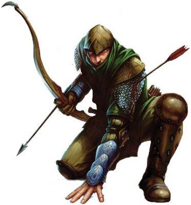 Male Human Archer Archer justin proper was the