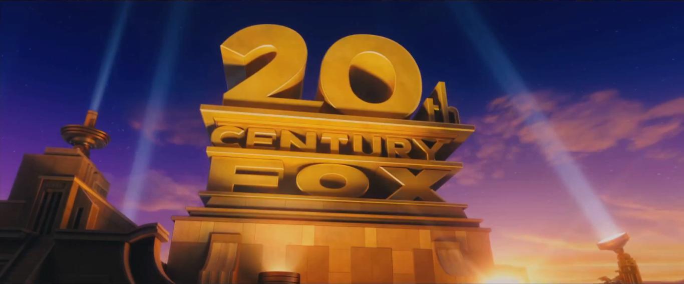 Как сделать надпись как 20 век фокс