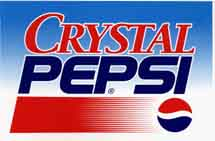 Crystal Pepsi - Logopedia, the logo and branding site