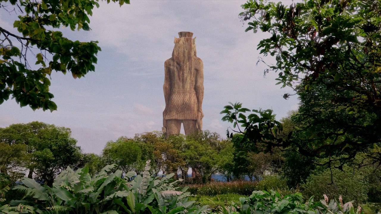 The lost statue