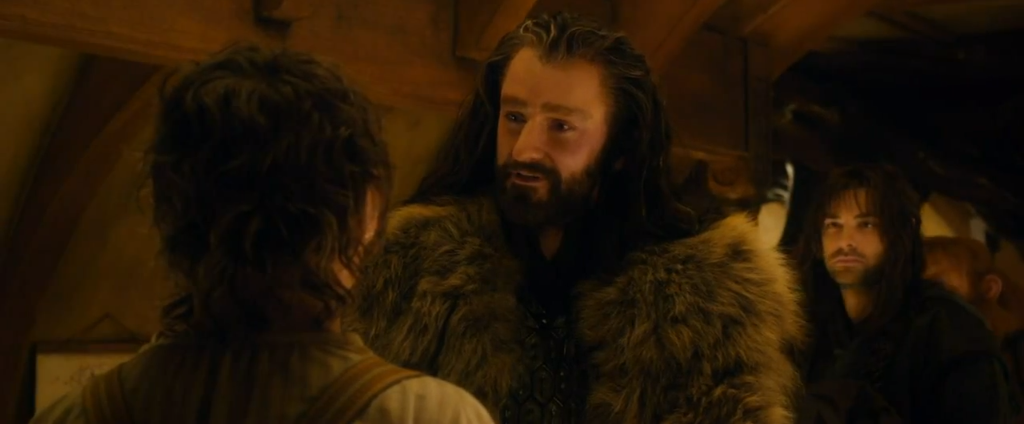 Thorin meets Bilbo branching