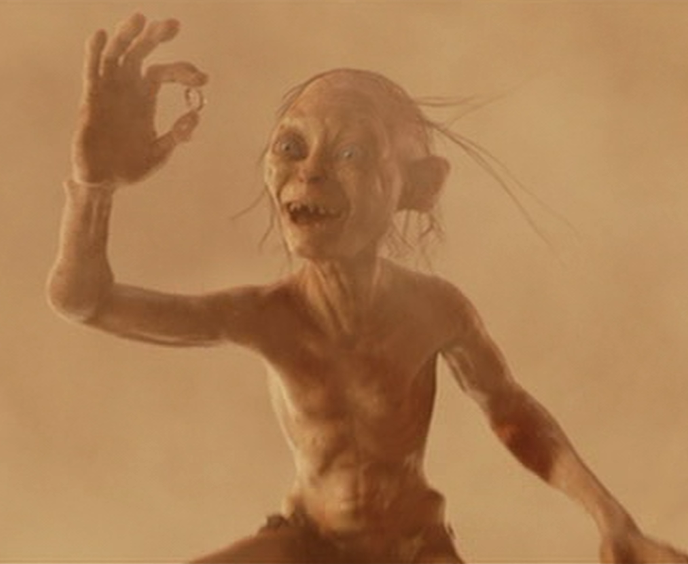 Image - Gollum has the ring png - Lord of the Rings WikiSmeagol Ring