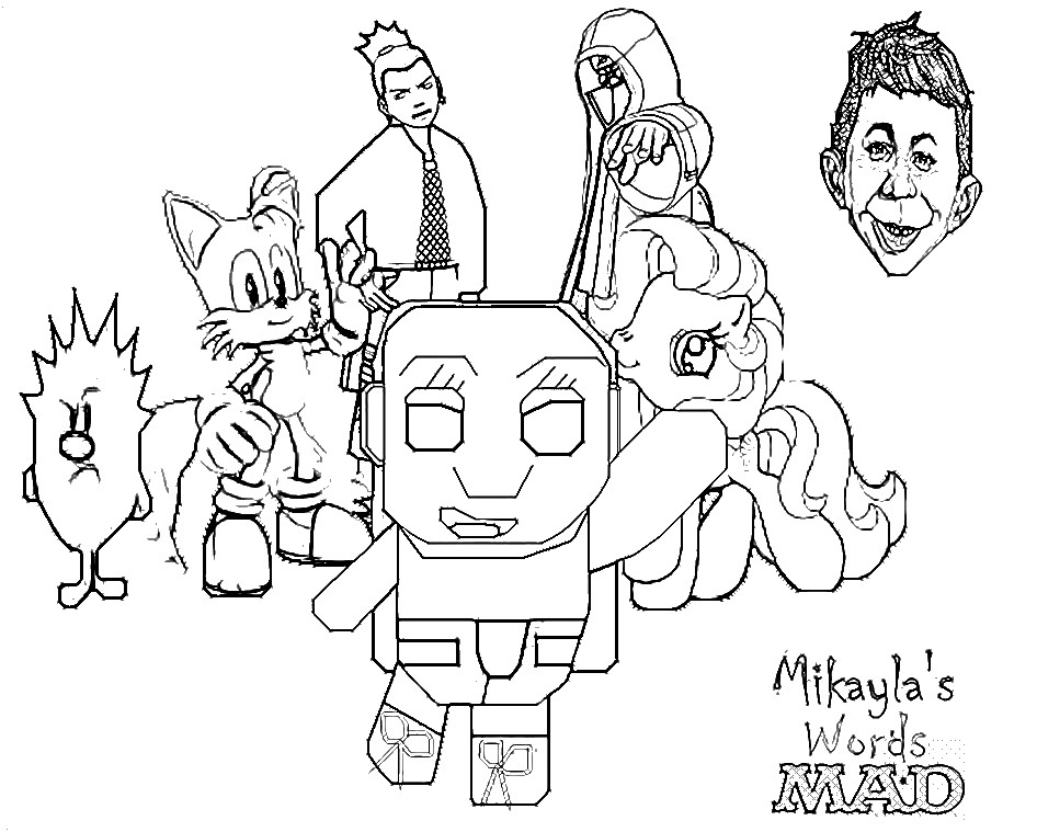 makayla coloring pages - photo#33