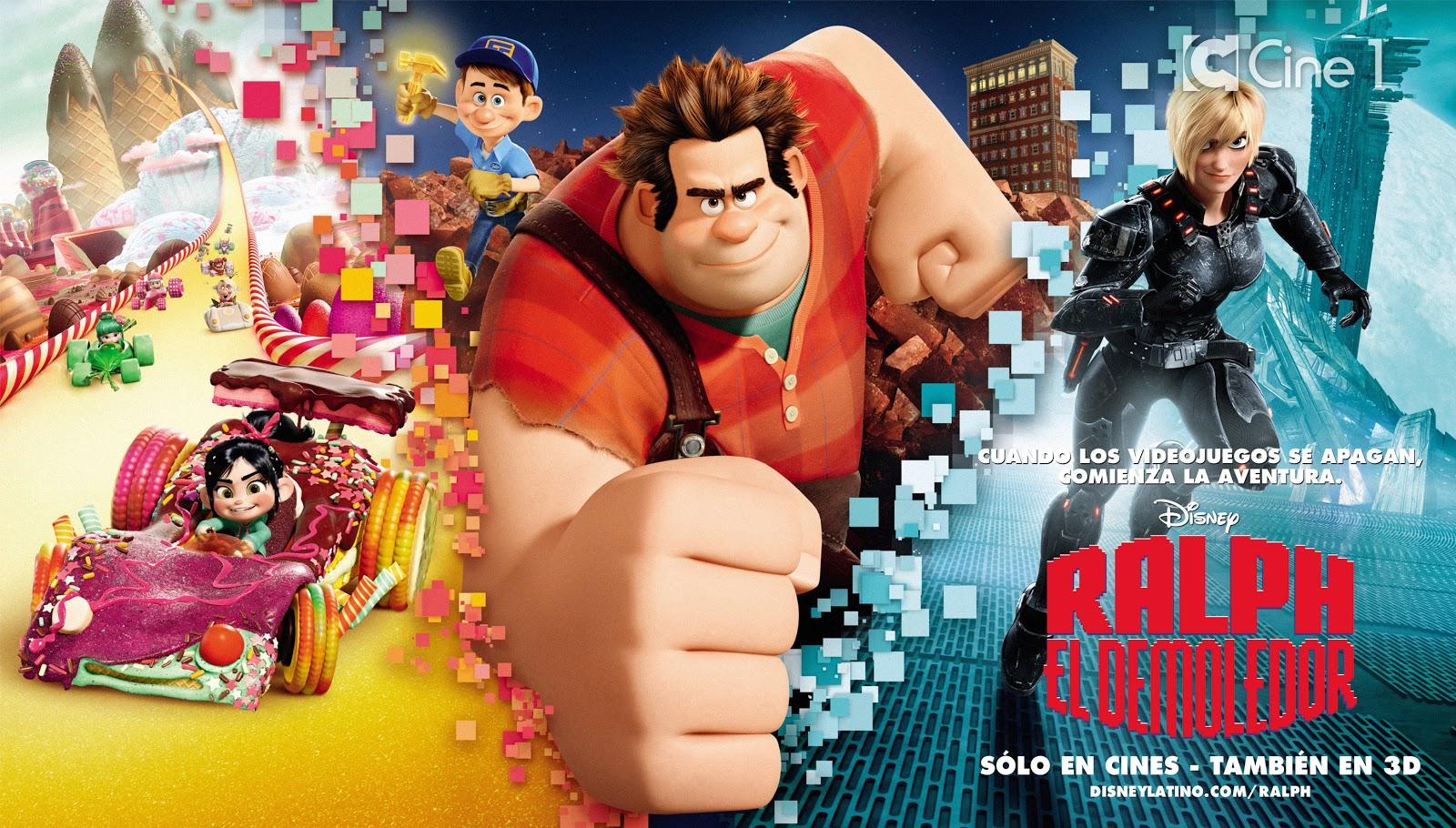 Recomendaciones de ¿Ralph el Demoledor? Ralph_El_Demoledor_Banner_Latino_Exclusivo_Cine_1