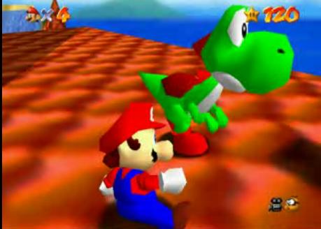 Super Mario 64 Yoshi_64