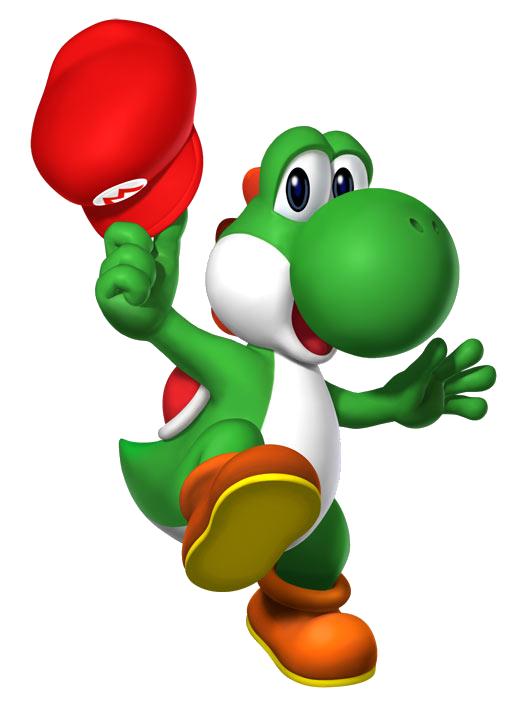 Super Mario 64 DS YoshiwithMarioHat