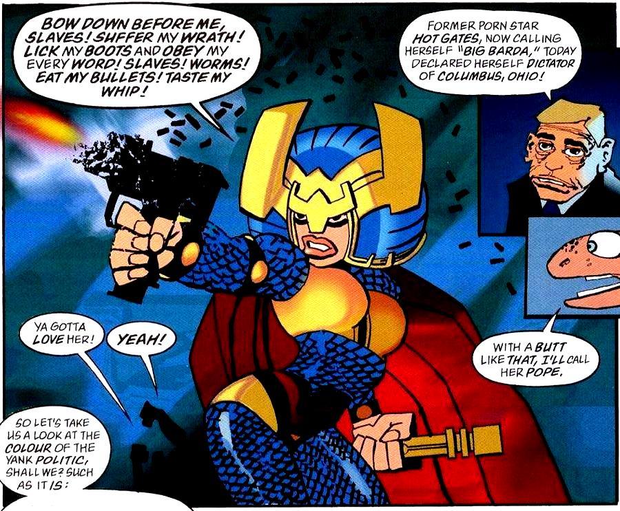 [Comics] The caped crusader - Page 2 Big_Barda_Dark_Knight_01