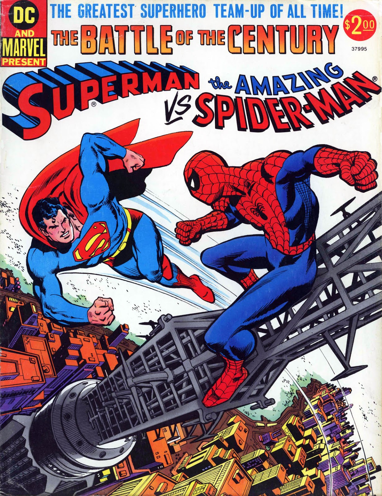 Superman vs The Amazing Spider-Man Vol 1 1 - DC Comics Database