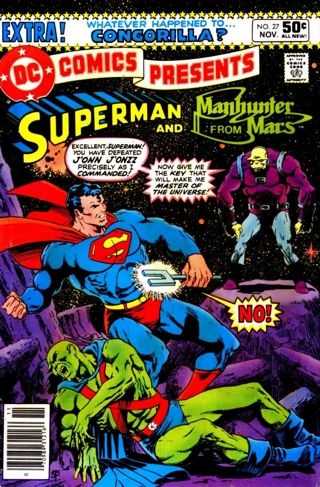 Mongul's first Apperance
