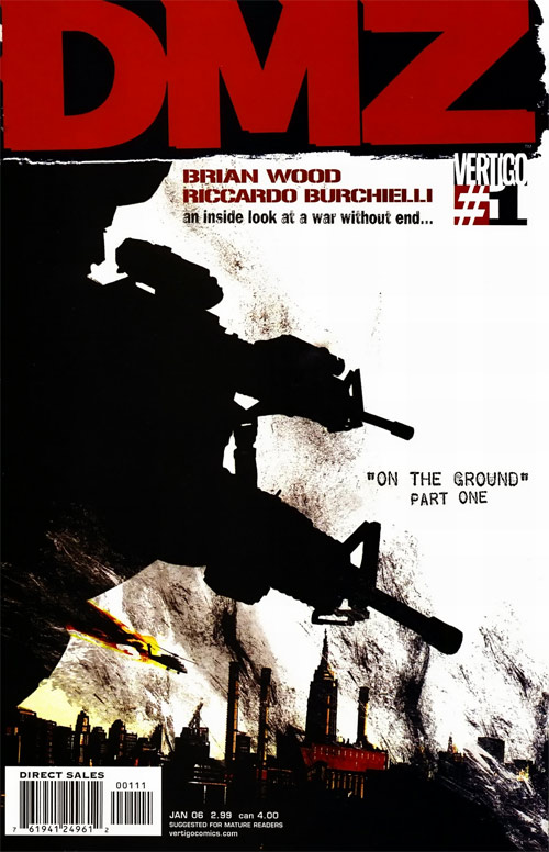List of Recommended Graphic Novels. DMZ_1