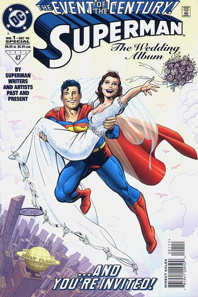 Wedding on Superman  The Wedding Album Vol 1 1   Dc Comics Database