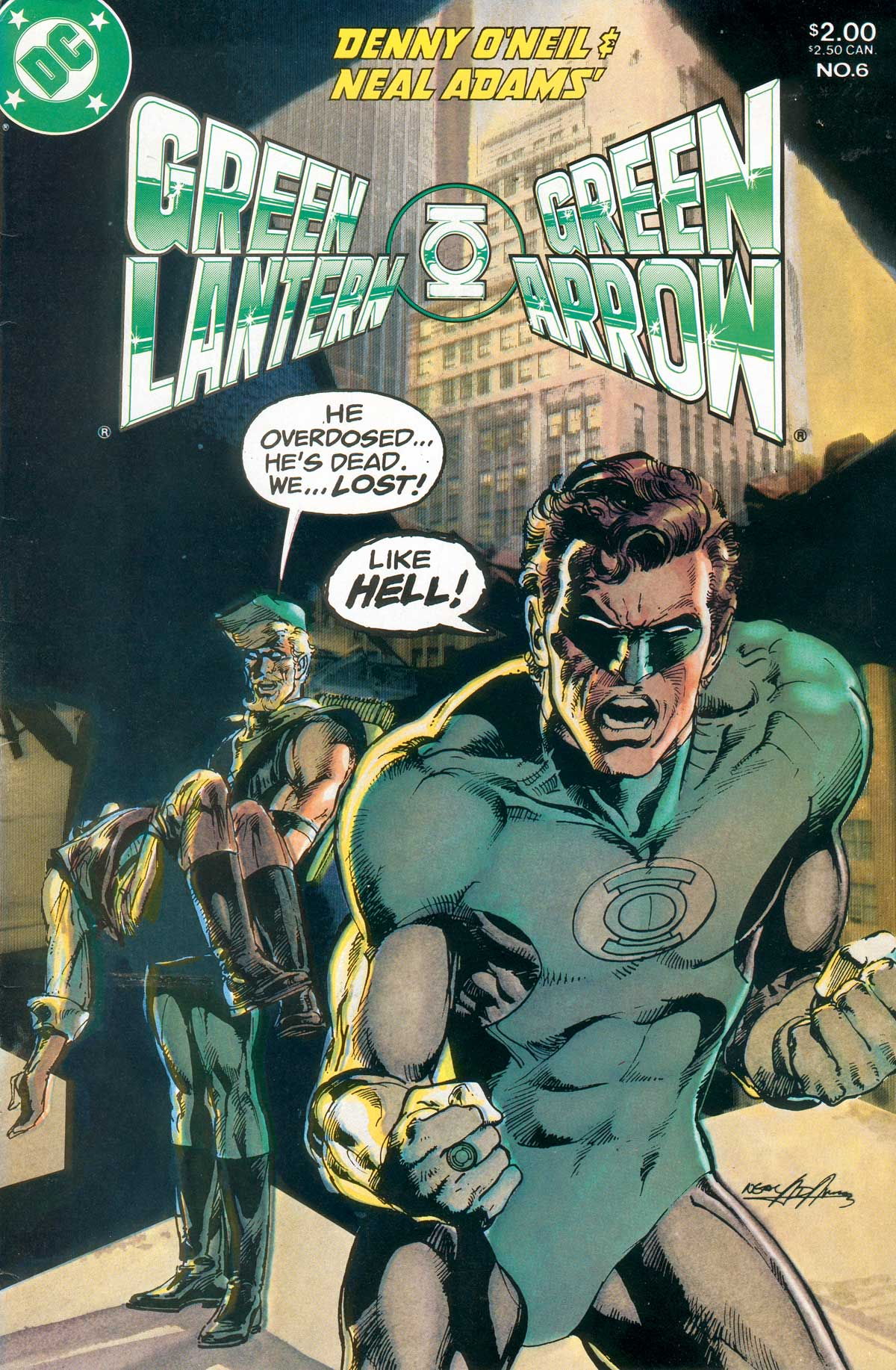 Green Lantern   Green Arrow Vol 1 6 All about gay porn: The Wedding Pt 2   Perfect ...