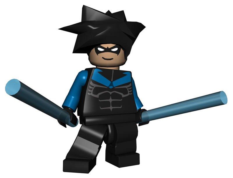 lego batman characters. Nightwing Lego Batma.