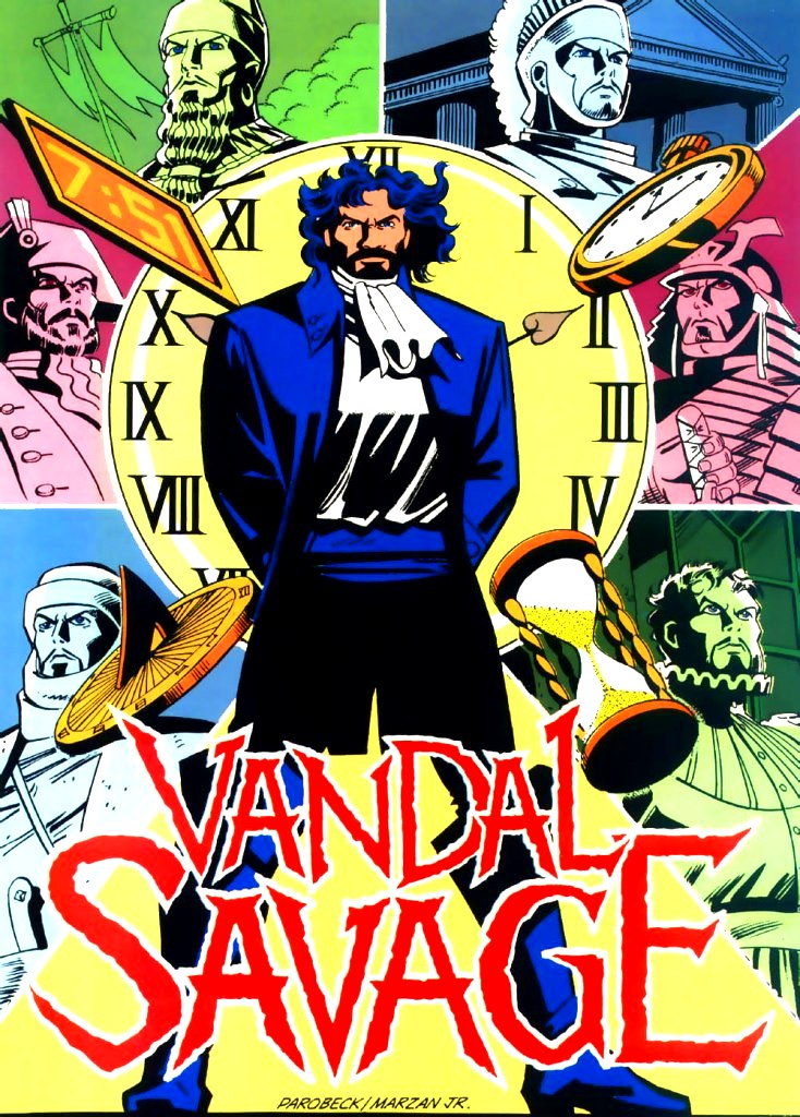 Vandal Savage Through The Ages