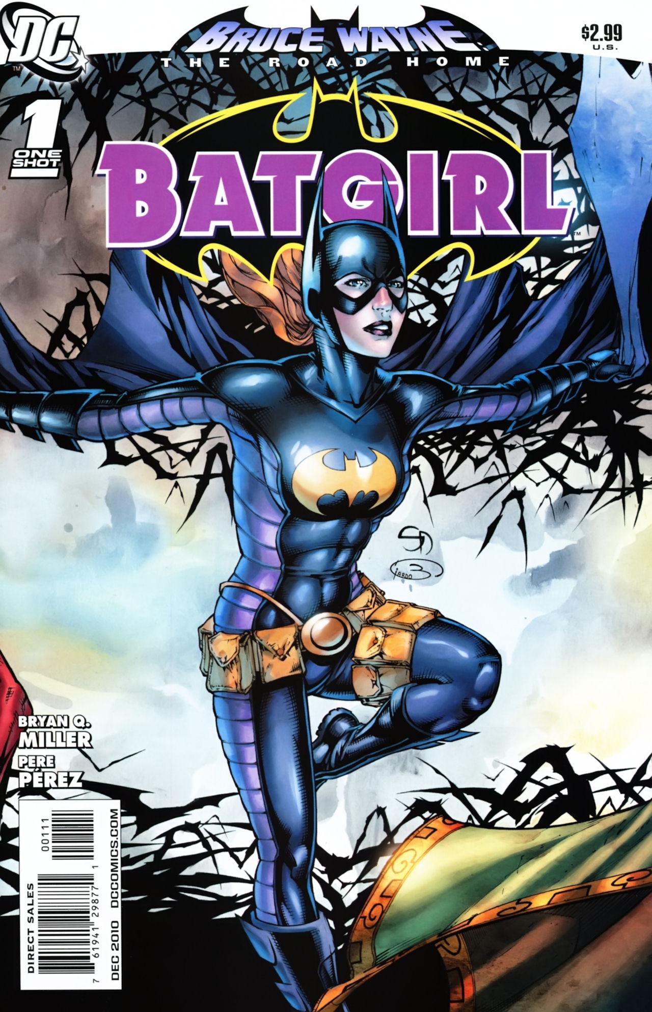 Batgirl Defeated Bruce_wayne-_the_road_home-_ ...
