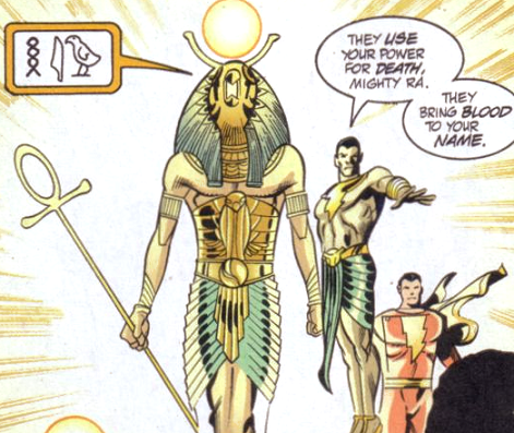 Ammon-Ra (New Earth) - DC Comics Database