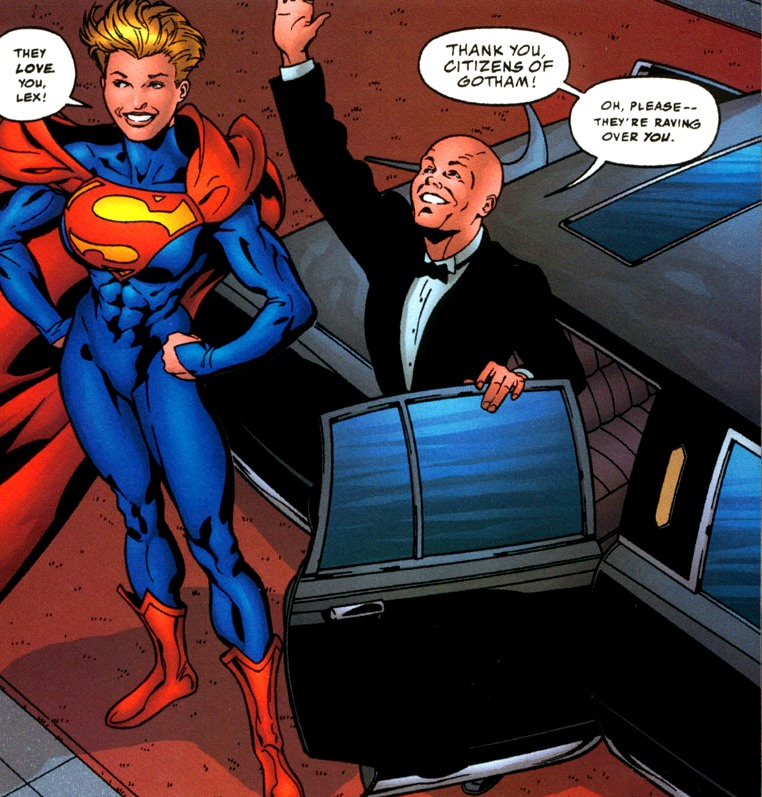 a lex luthor: