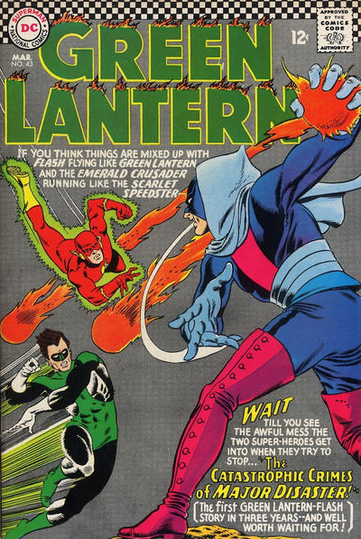Flash and Green Lantern Team Up