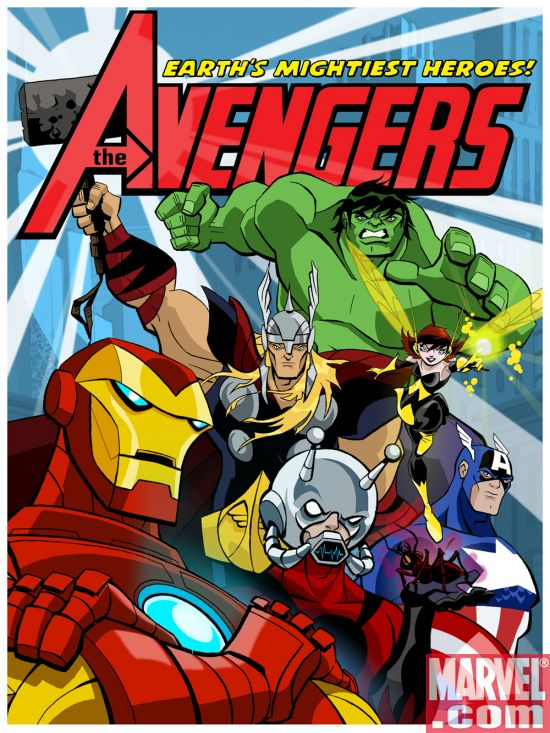 The Avengers Earths Mightiest Heroes [Saison 01 FRENCH] [E01 à E13] [DVDRiP] [FS-US]
