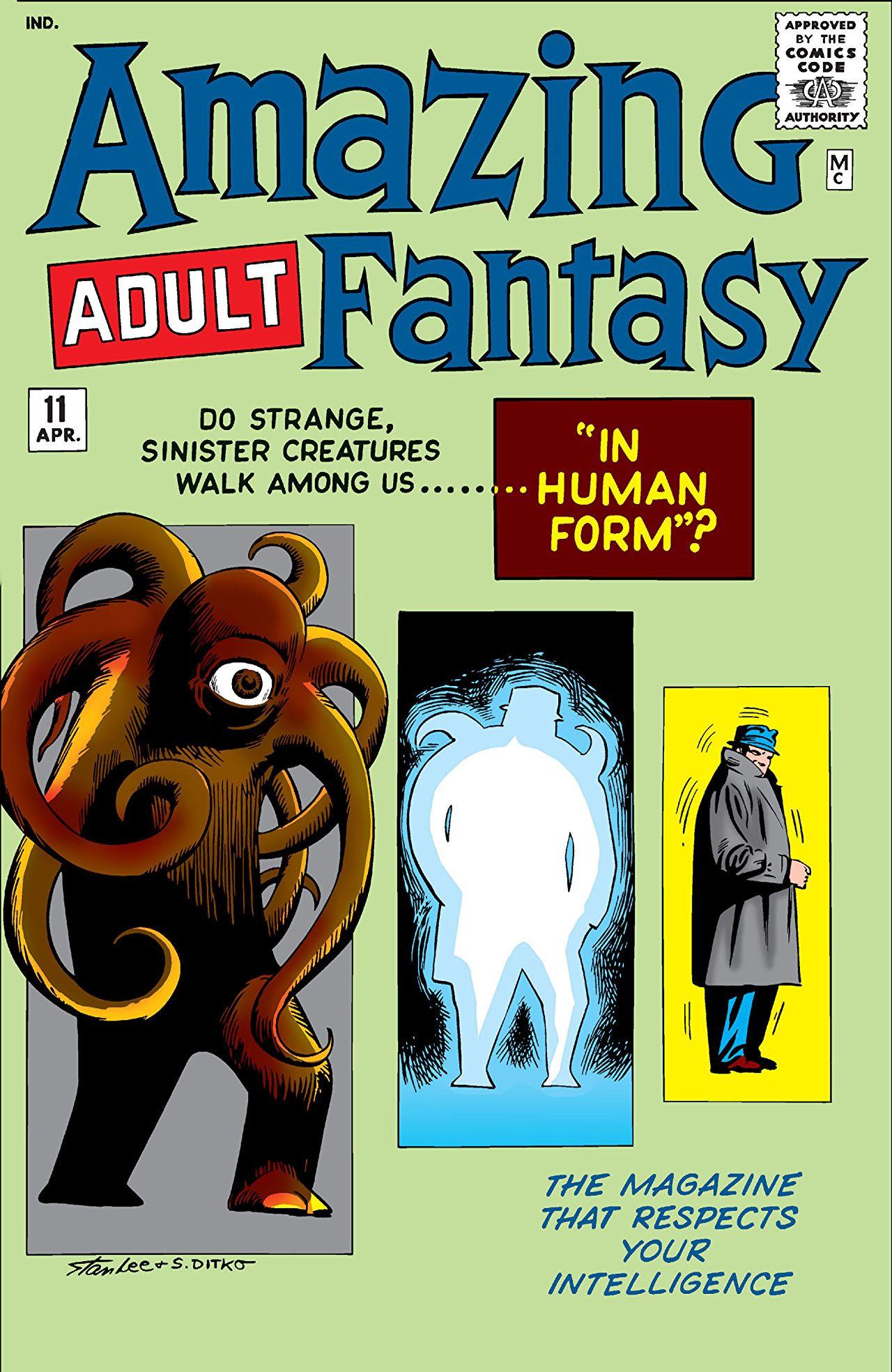 Amazing Adult Fantasy Vol 1 #11