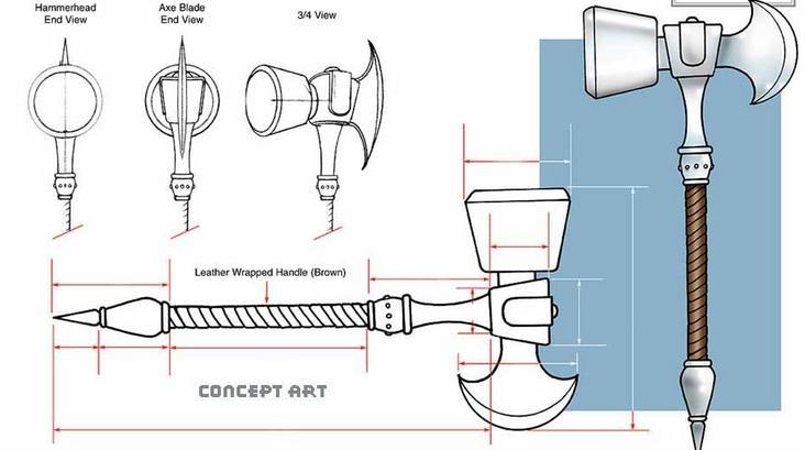 como hacer una replica del mjolnir martillo de thor
