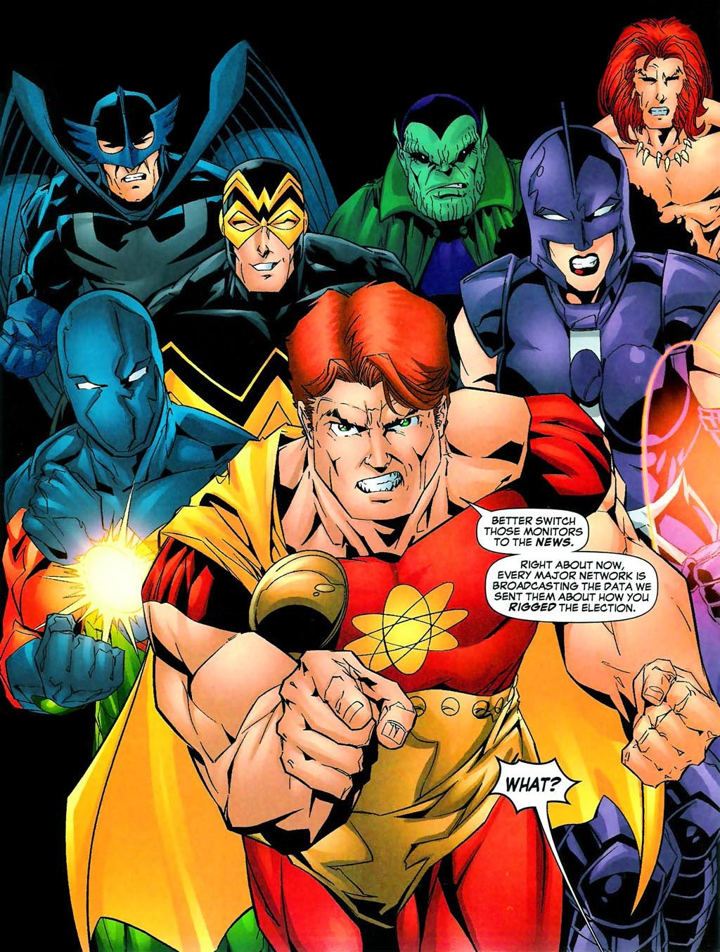 Squadron Supreme (Earth-712) - Marvel Comics Database