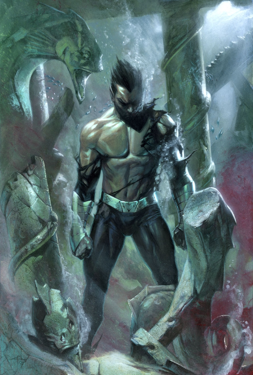 ¿'Namor', el Villano de 'Iron Man 3'? Agarrate Tony Stark!