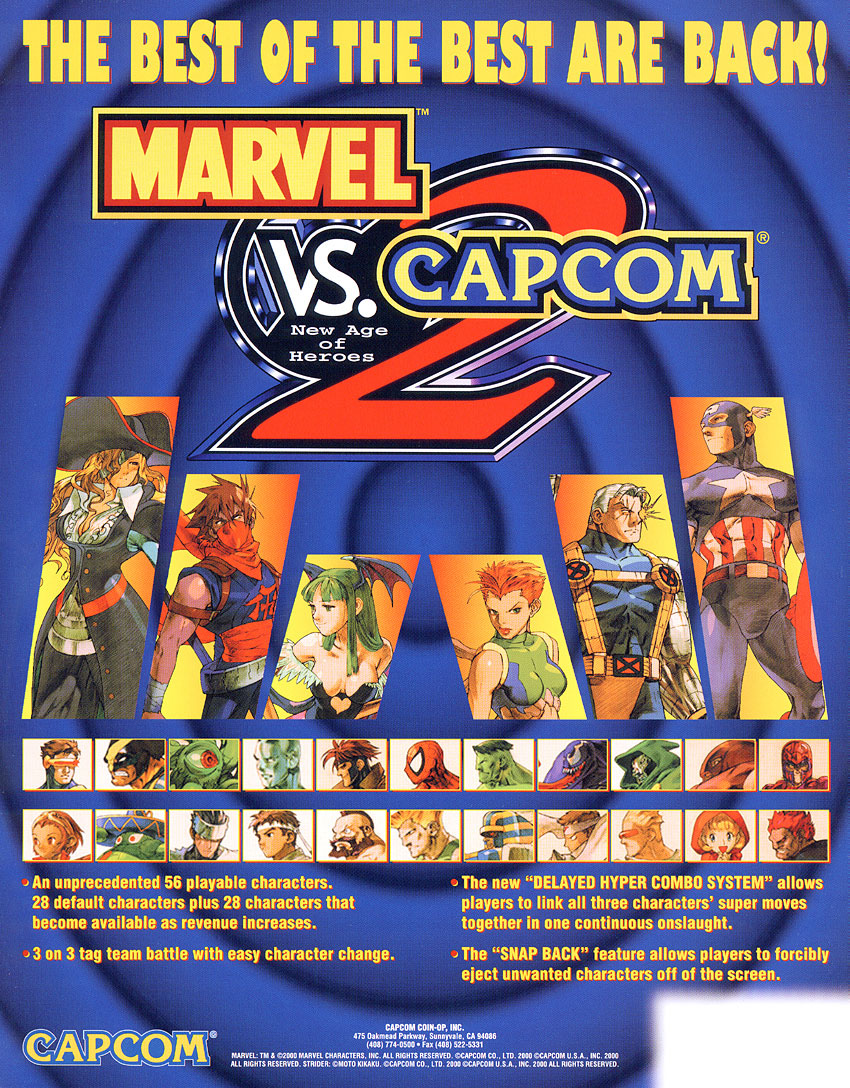 Marvel vs. Capcom 2: New Age of Heroes - Marvel Comics Database