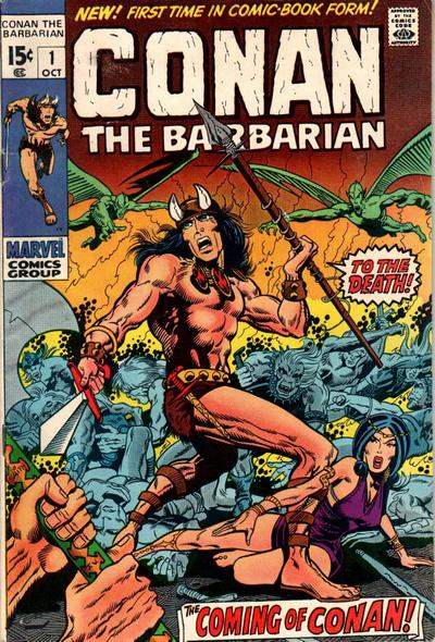 conan the barbarian. Conan the Barbarian Vol 1 #1