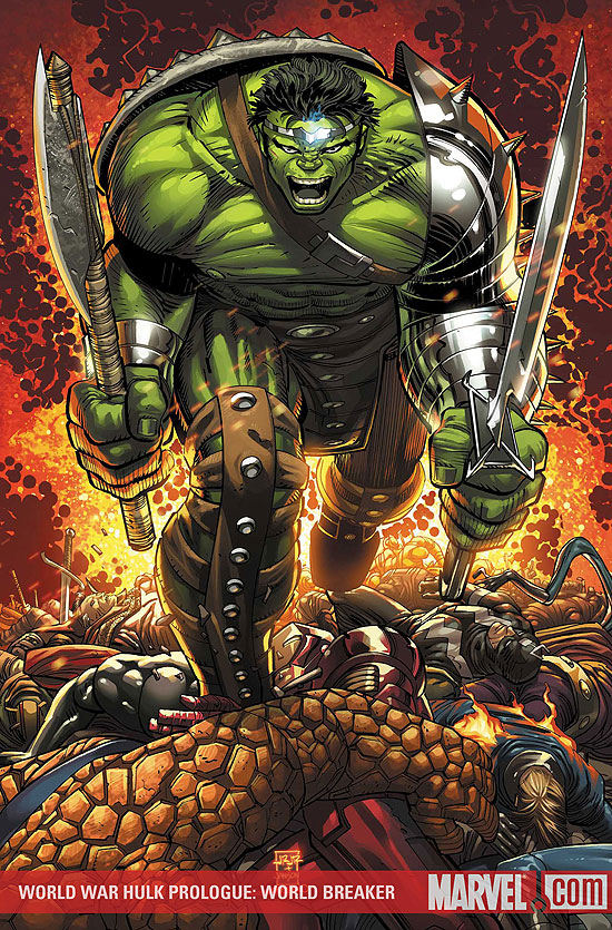 world war hulk. World War Hulk Prologue: World Breaker Vol 1 1