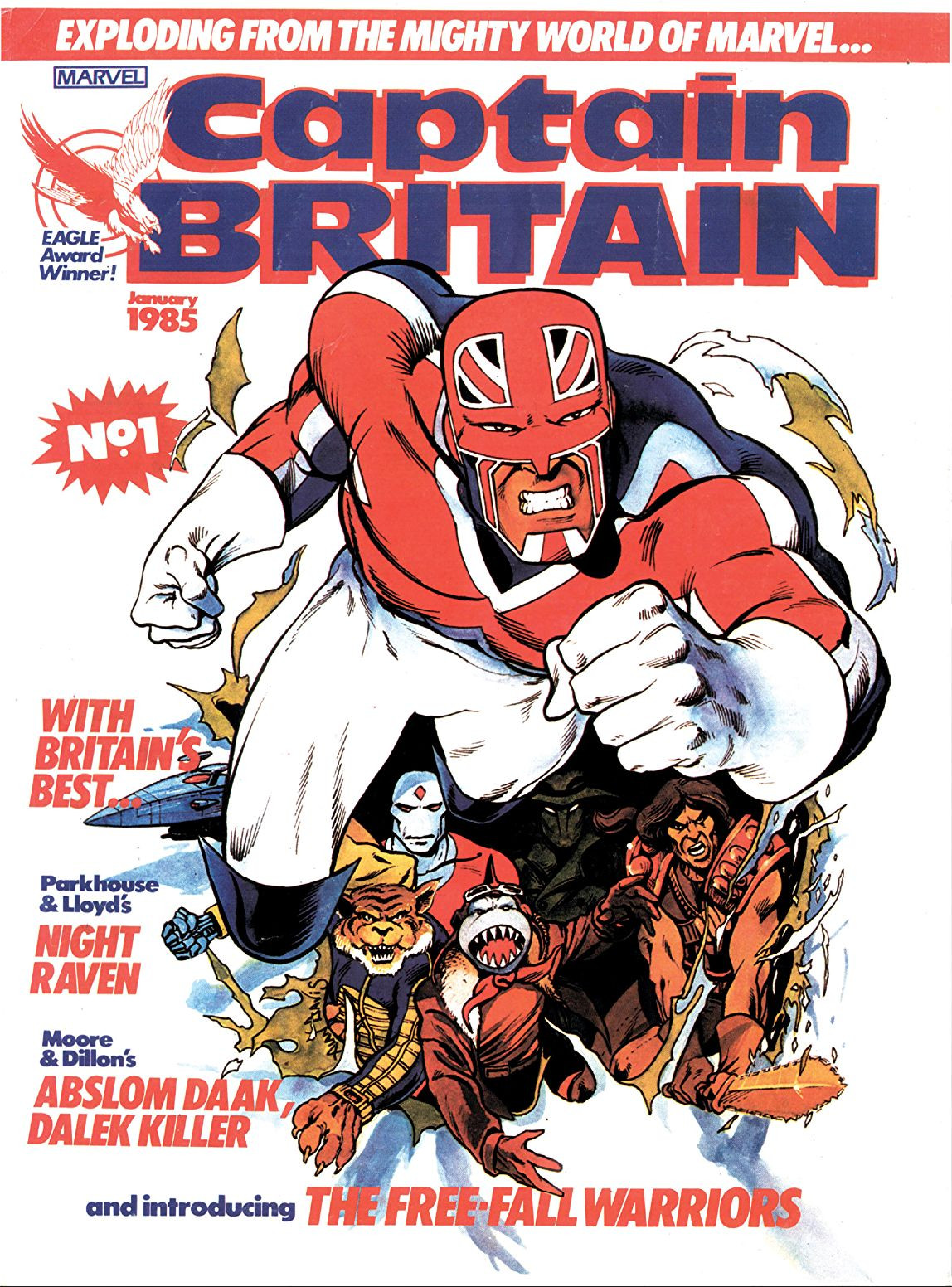 Captain Britain - Marvel Editable Datafile