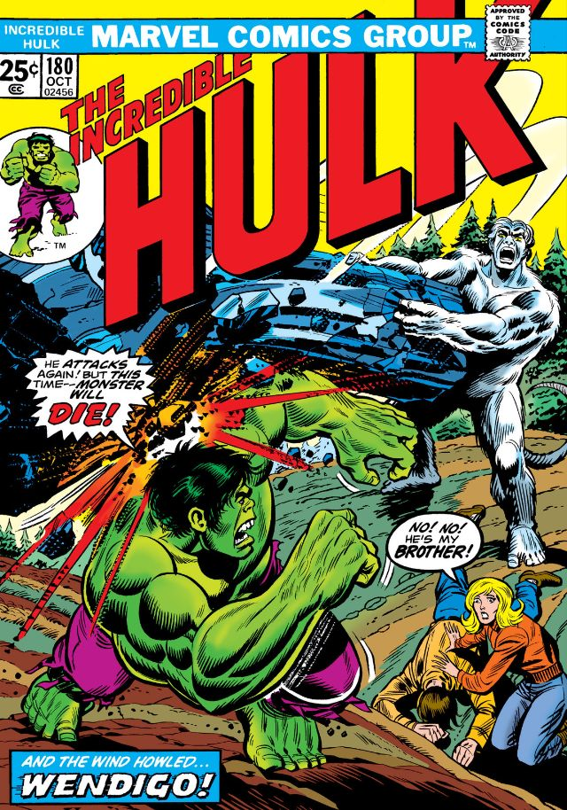 Incredible Hulk #180