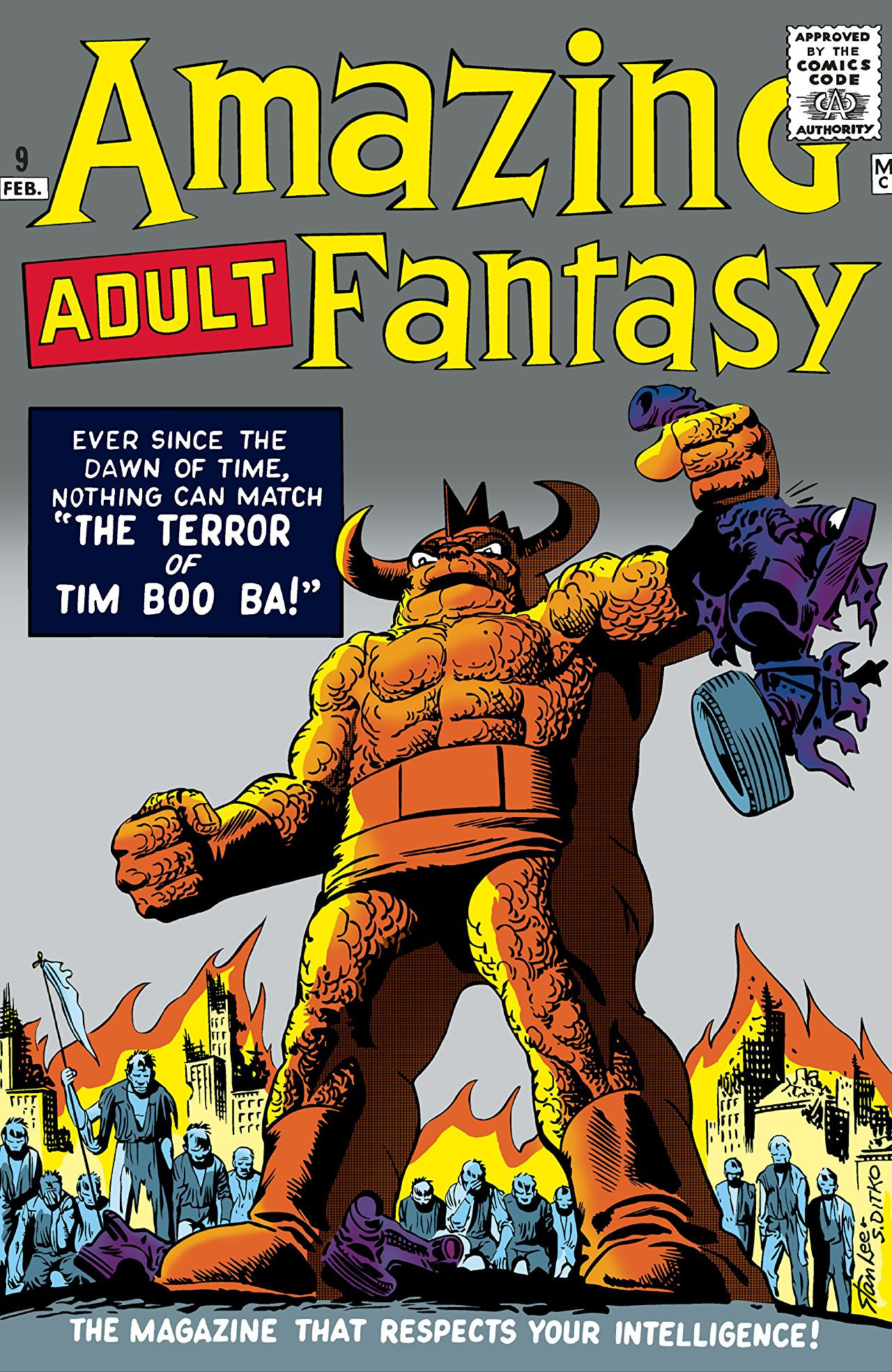Amazing Adult Fantasy Vol 1 #9