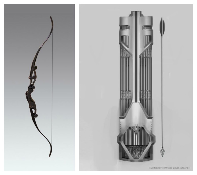 Size of this preview  542   215  480 pixels   Other resolution  271   215  240    Hawkeye Avengers Bow And Arrow