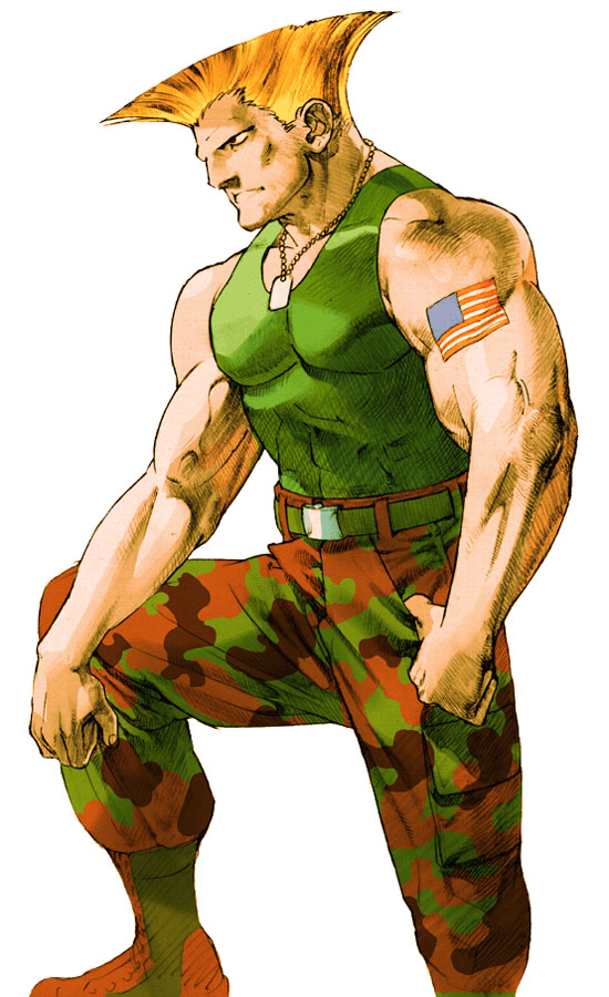 Guile - Marvel vs. Capcom Wiki